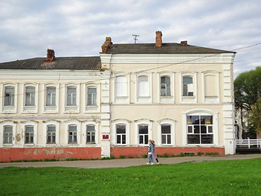 Дом конца 19 века на улице Кирова