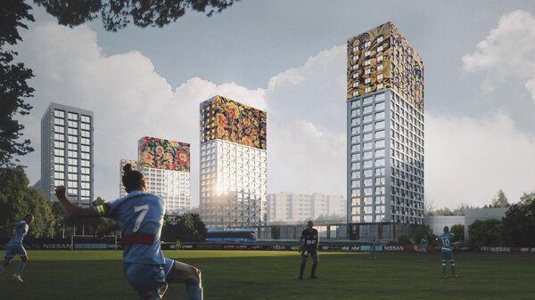 Проект UNK Project для программы реновации в Москве