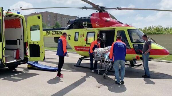 Власти рассказали о состоянии медсестры, пострадавшей при пожаре в Рязани