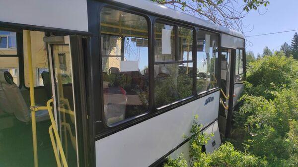 ДТП с автобусом в городе Лесной Свердловской области