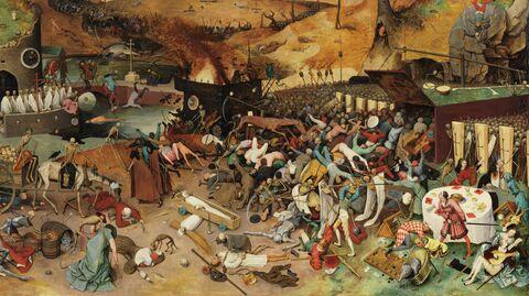Питер Брейгель Старший, Триумф смерти, 1562