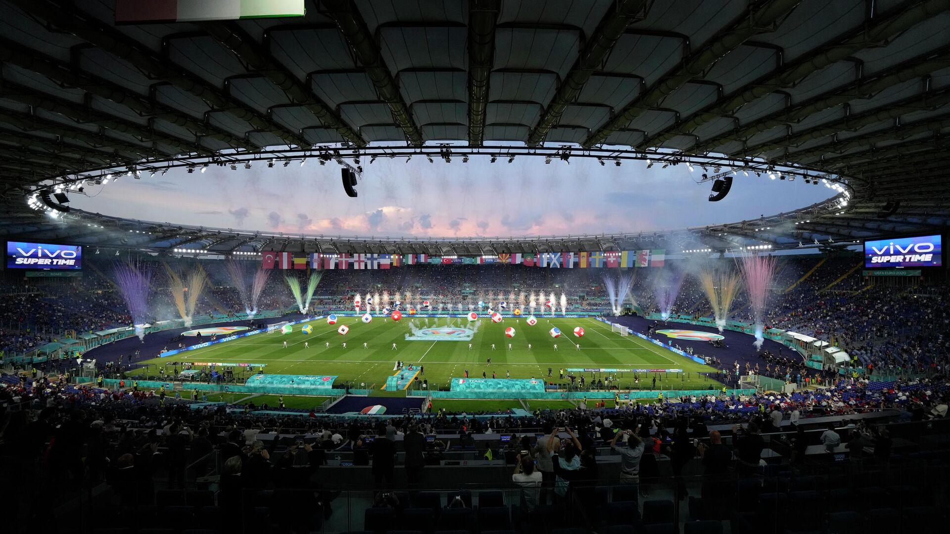 Церемония открытия ЕВРО-2020 - РИА Новости, 1920, 11.06.2021