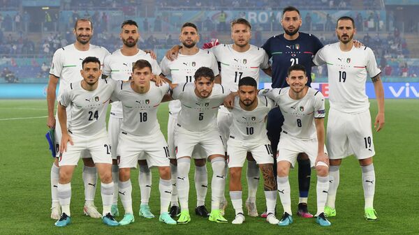 Футболисты сборной Италии