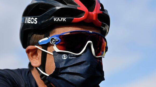 Велогонщик Ричард Карапас (Эквадор)