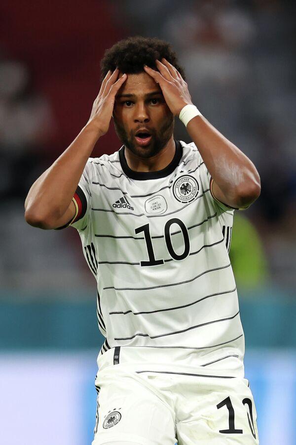 Нападающий сборной Германии Серж Гнабри