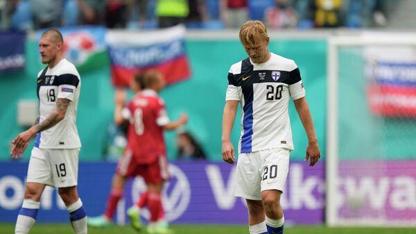 Сборная Финляндии по футболу после матча с Россией на ЕВРО-2020