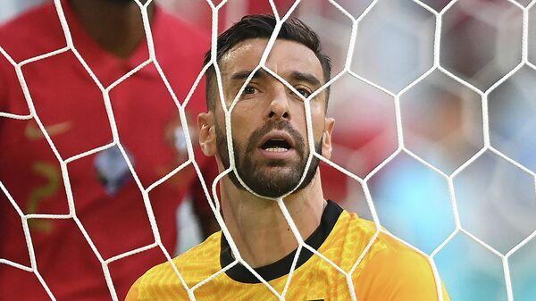 Вратарь сборной Португалии Руй Патрисиу