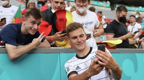 Полузащитник сборной Германии Йосуа Киммих
