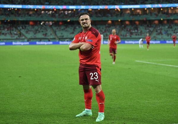 Футболист сборной Швейцарии Джердан Шакири