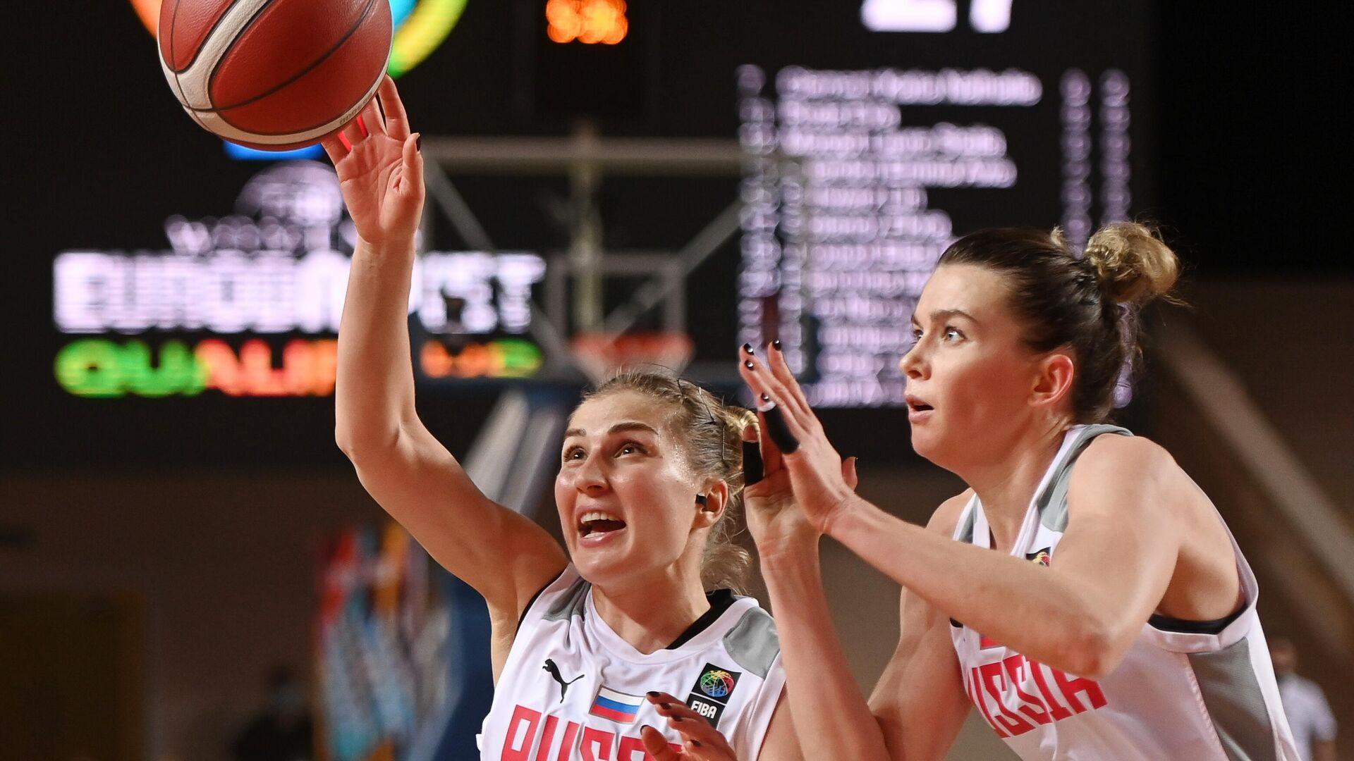 Баскетбол. Женщины. Квалификация Евробаскета-2021. Матч Россия – Швейцария - РИА Новости, 1920, 20.06.2021