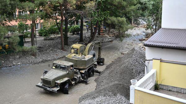 Минобороны назвало сроки завершения расчистки подтопленных районов Крыма