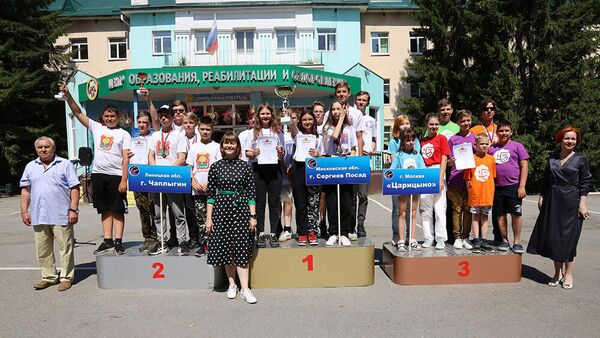 Призёры всероссийской олимпиады по ракетомоделированию
