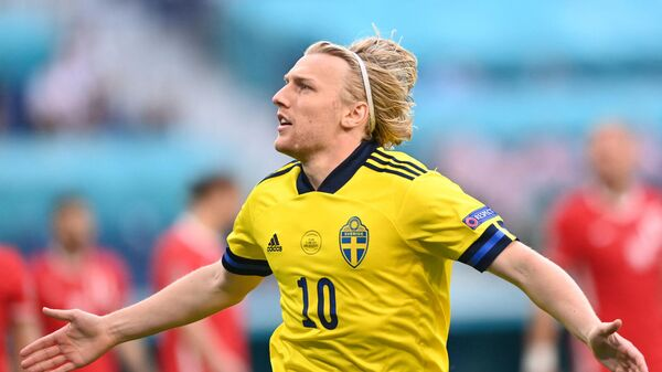 Полузащитник сборной Швеции Эмиль Форсберг
