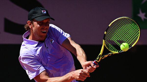 Американский теннисист Сэм Куэрри