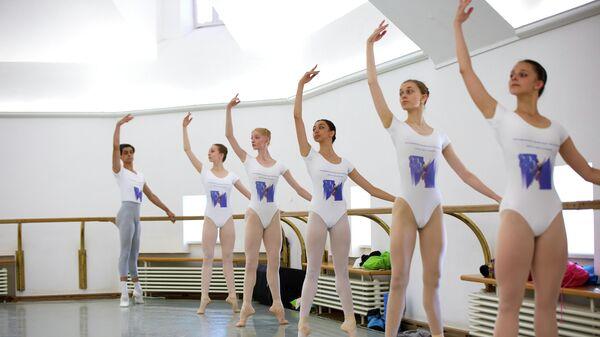 Участницы второго отборочного тура Молодежной балетной программы