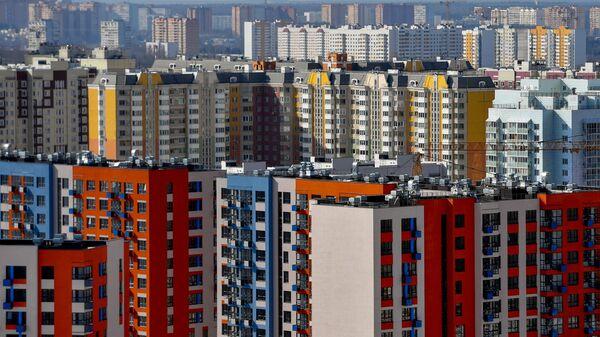 Жилой комплекс в поселке Ватутинки в Новомосковском административном округе Москвы