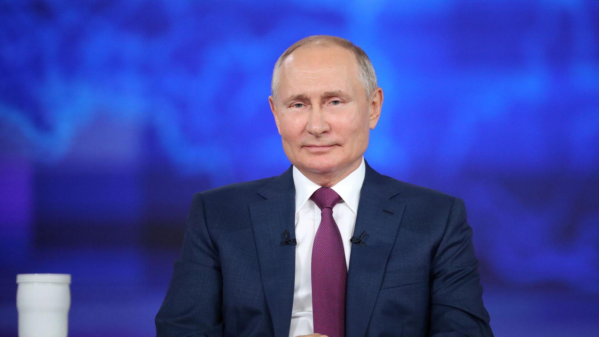 Президент РФ Владимир Путин - РИА Новости, 1920, 01.07.2021