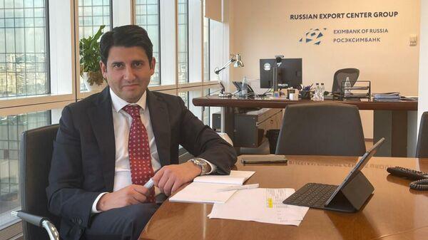 Председатель Правления АО Росэксимбанк Азер Талыбов