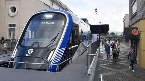 Презентация головного вагона нового поезда Иволга на Ярославском вокзале