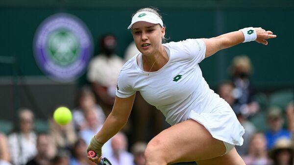 Теннисистка Анна Блинкова (Россия)