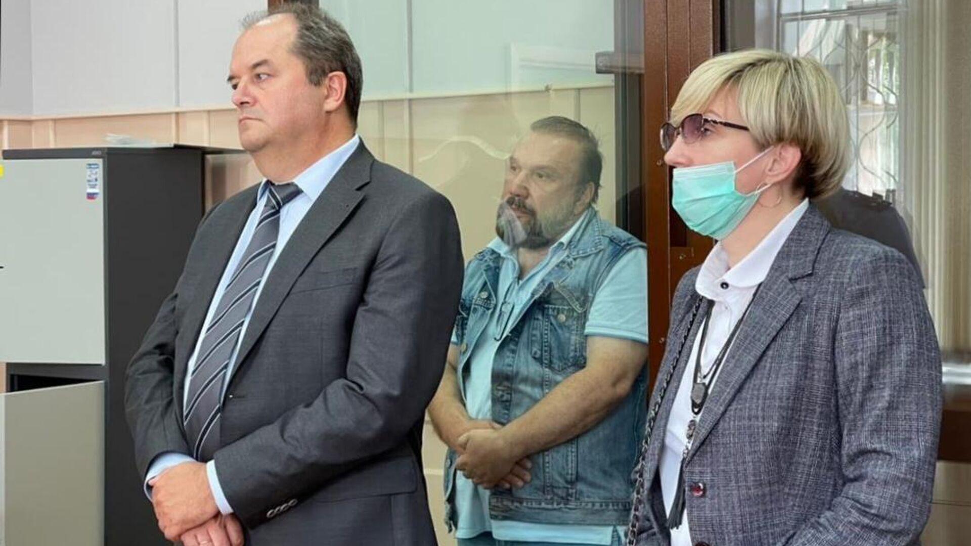 Бизнесмен Виктор Батурин на заседании Басманного суда Москвы - РИА Новости, 1920, 02.07.2021