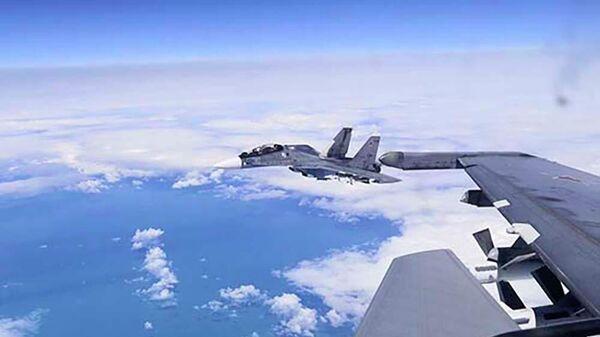 Морская авиация Черноморского флота провела учебно-боевые полёты над Чёрным морем