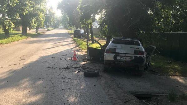 ДТП в Ростовской области, произошедшее по вине подростка