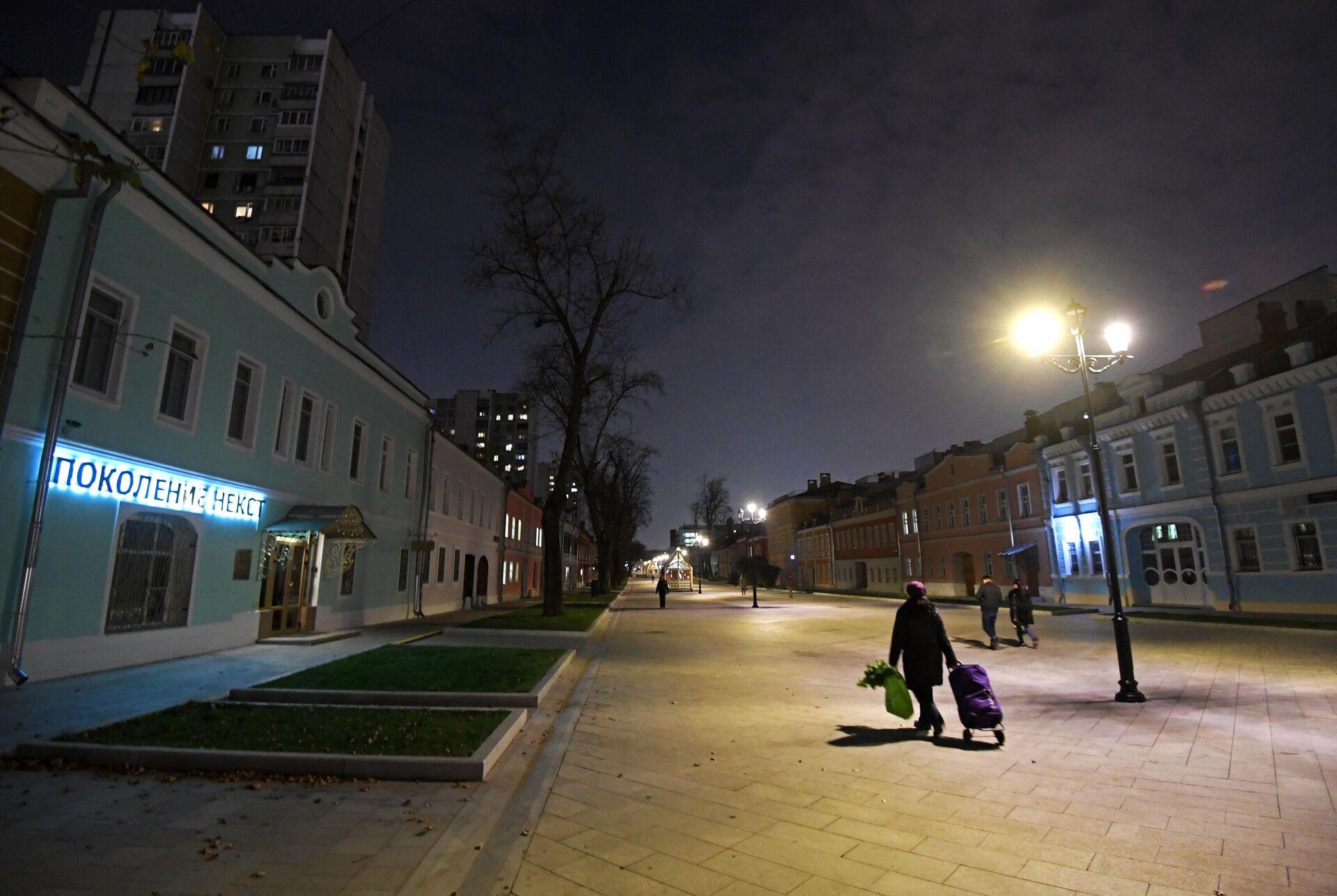 Улица Школьная в Москве - РИА Новости, 1920, 05.07.2021