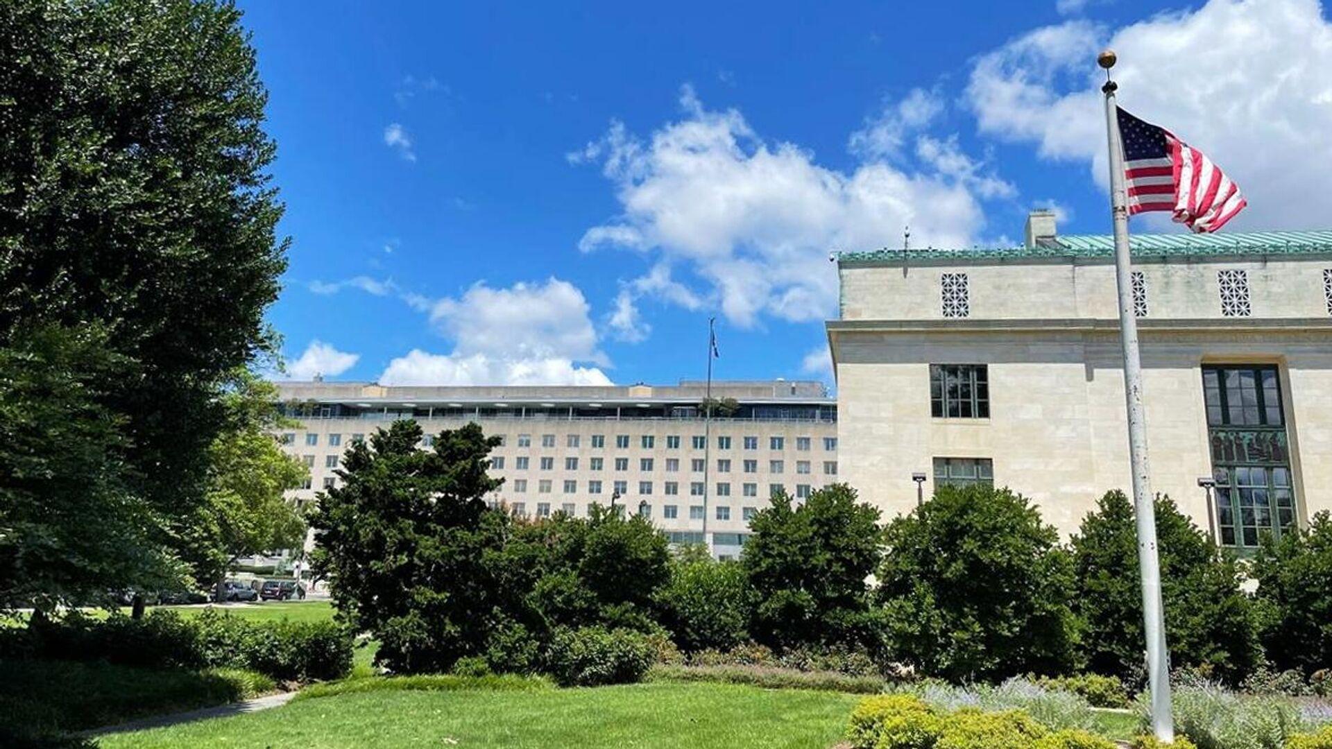 Здание Государственного департамента США в Вашингтоне - РИА Новости, 1920, 24.07.2021