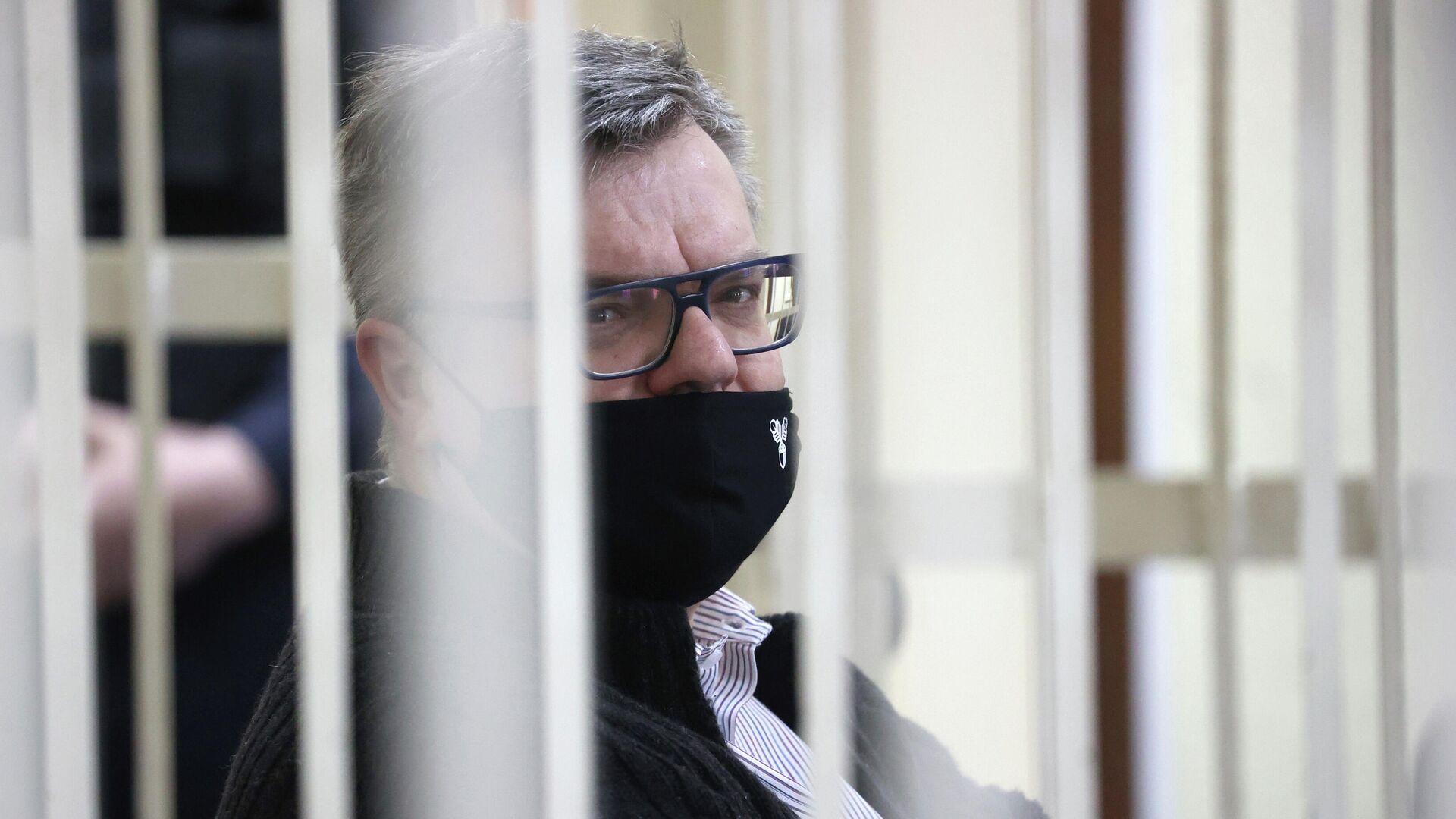 Виктор Бабарико в суде - РИА Новости, 1920, 09.08.2021