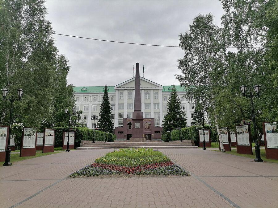 Центр Ханты-Мансийска