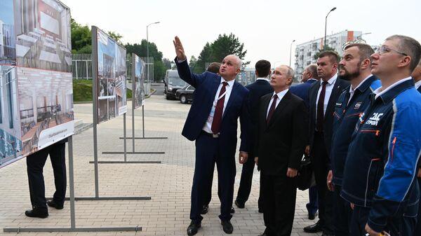 Рабочая поездка президента РФ В. Путина в Сибирский федеральный округ