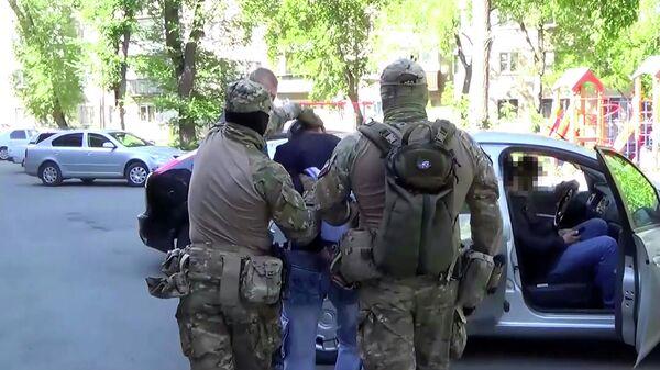 ФСБ РФ пресекла деятельность террористической организации. Кадр видео