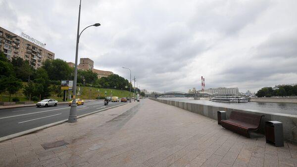 Ростовская набережная в Москве