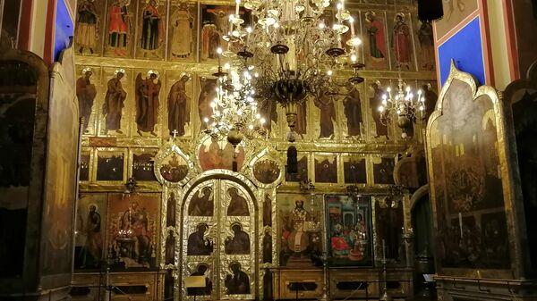 Суздаль. Внутри Рождественского собора