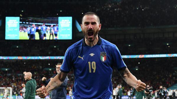 Защитник сборной Италии Леонардо Бонуччи