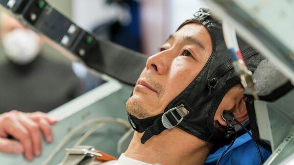 Японский бизнесмен Юсаку Маэдзава, будущий космический турист