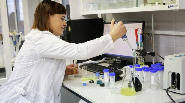 Работа в химической лаборатории