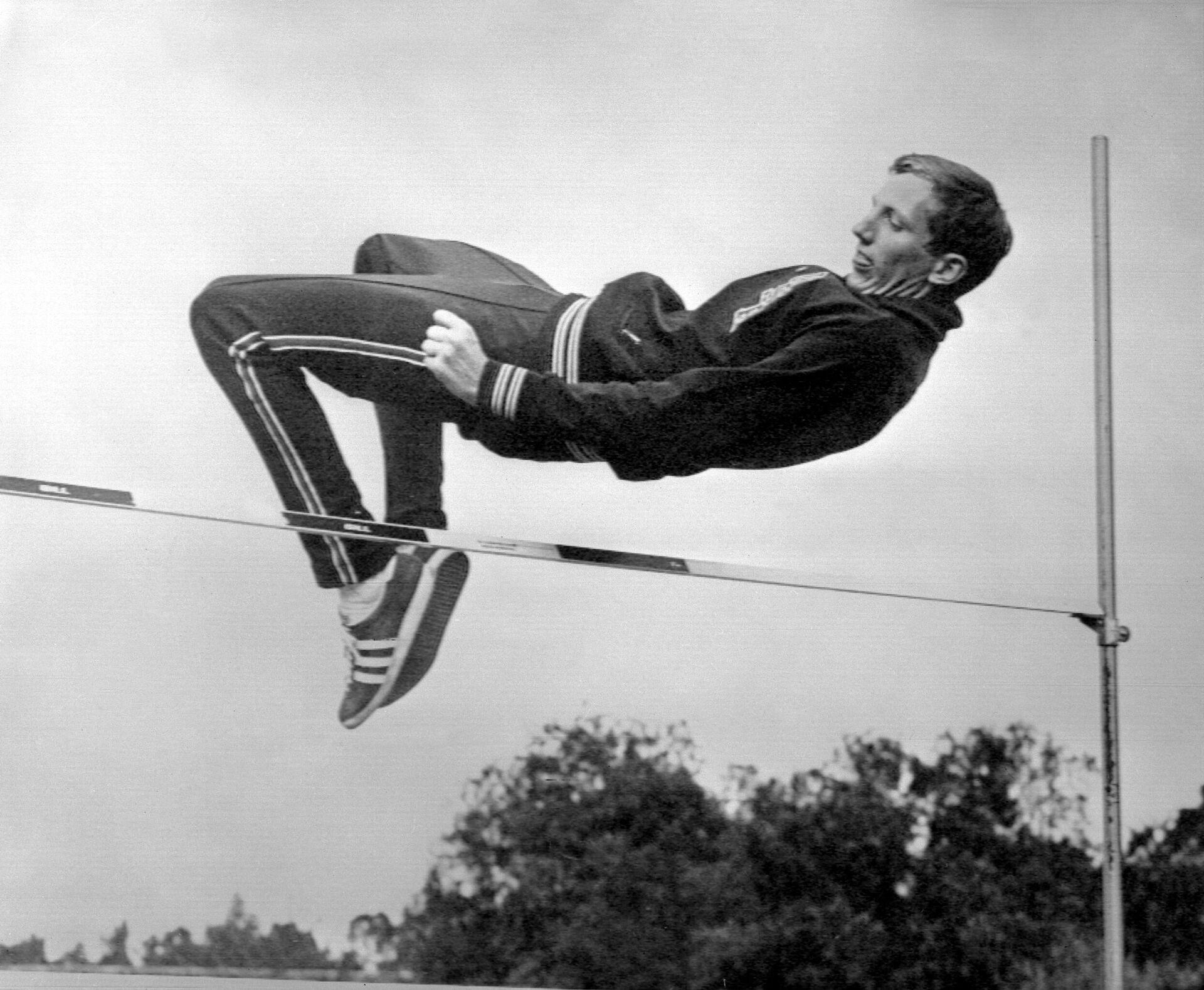 Дик Фосбери на Олимпийских играх 1968 года в Мексике - РИА Новости, 1920, 12.07.2021