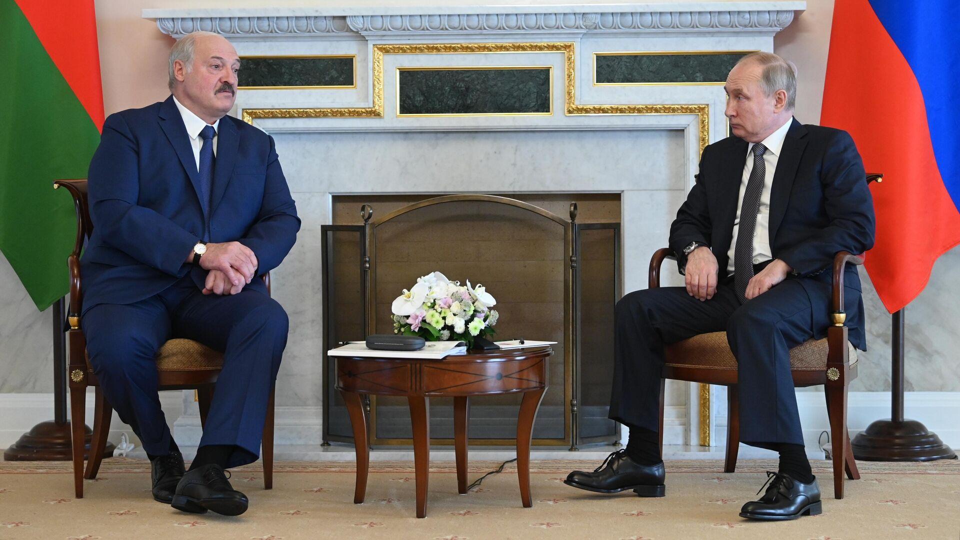 Путин и Лукашенко обсудят Афганистан и двусторонние отношения