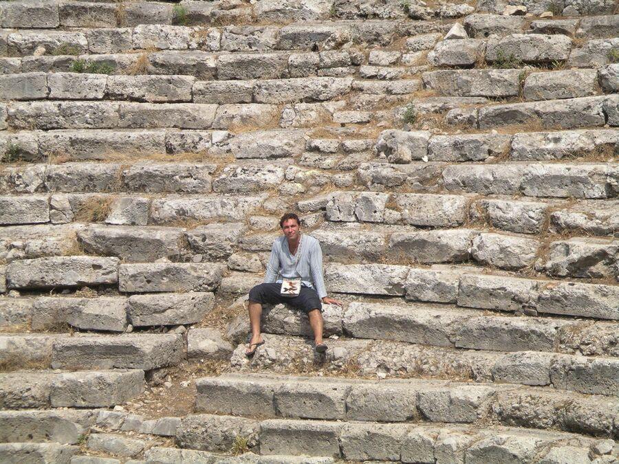 Тимофей Пронькин. Турция. Амфитеатр древнегреческого города Фазелис