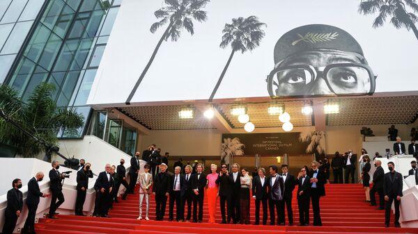 Съемочная группа фильма Французский вестник на Каннском кинофестивале