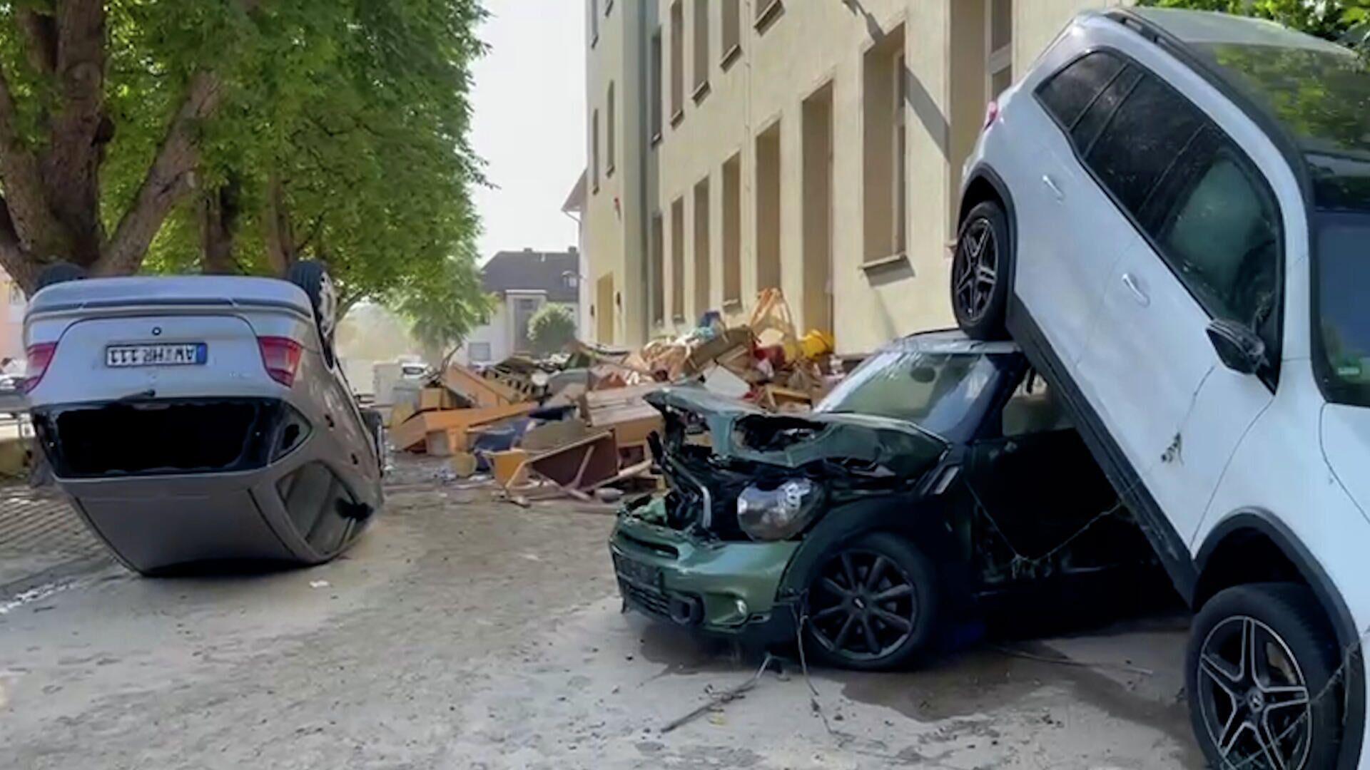 Наводнения в Германии: число жертв растет, введен режим ЧС - РИА Новости, 1920, 19.07.2021