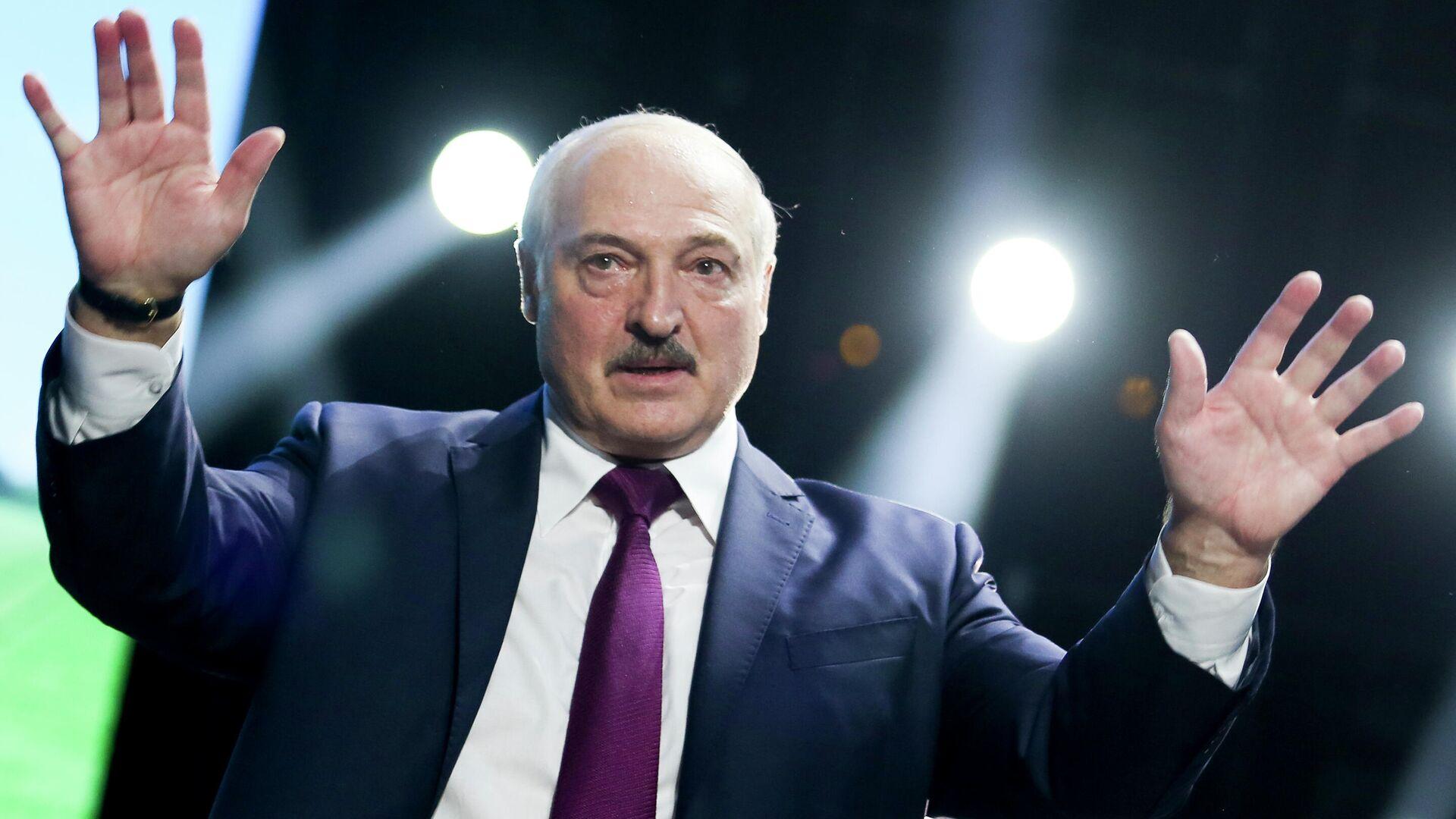 Президент Республики Беларусь Александр Лукашенко - РИА Новости, 1920, 20.07.2021