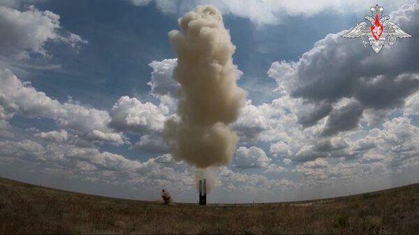 Испытания системы С-500 на полигоне Капустин Яр
