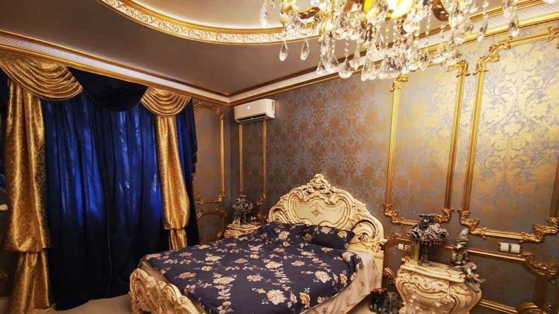 Спальня в доме главы ГИБДД по Ставропольскому краю Алексея Сафонова - РИА Новости, 1920, 21.07.2021