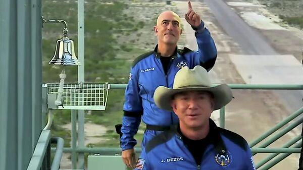 Глава компании Безос: полет в космос на New Shepard превзошел мои ожидания