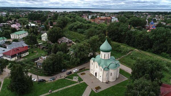 Спасо-Преображенский собор на Красной площади Переславль-Залесского