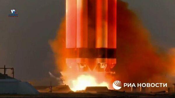 Запуск с Байконура российского модуля Наука