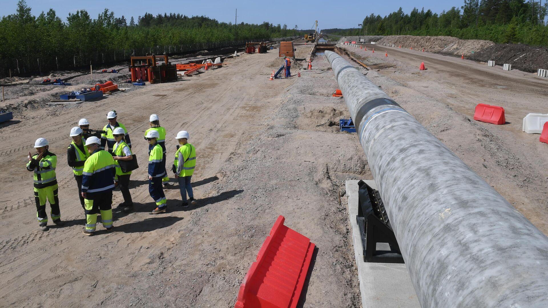 """""""Нафтогаз"""" считает, что """"Северному потоку — 2"""" не разрешат работать"""